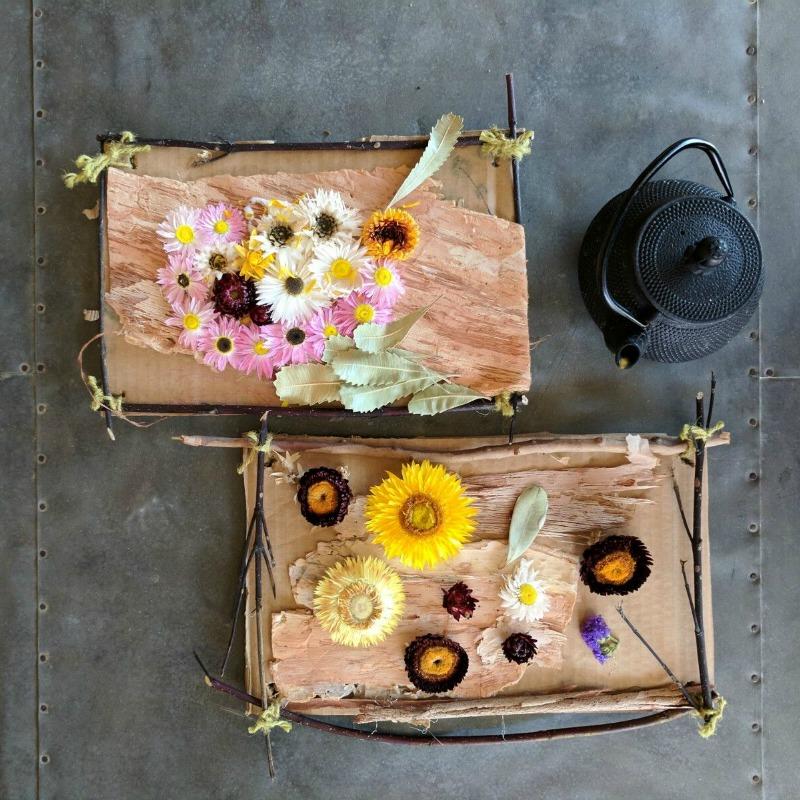 Kids workshop floral art